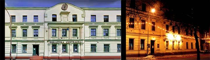 Zdjecie przedstawiające Budynek - MBP w Rudzie Śląskiej Biblioteka Centralna, Wirek